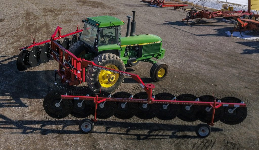 Revolutionary V-Rake System Expected to Transform Hay Industry